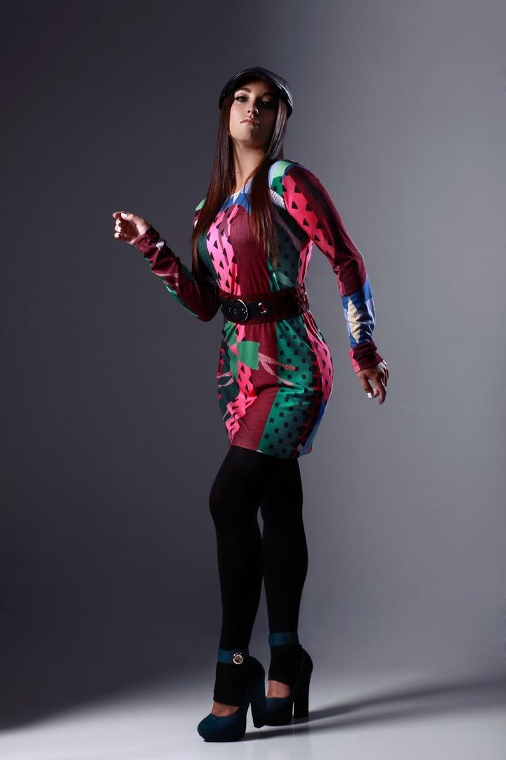 Nuevo Vestido estampado original, Colección Invierno 2020-21